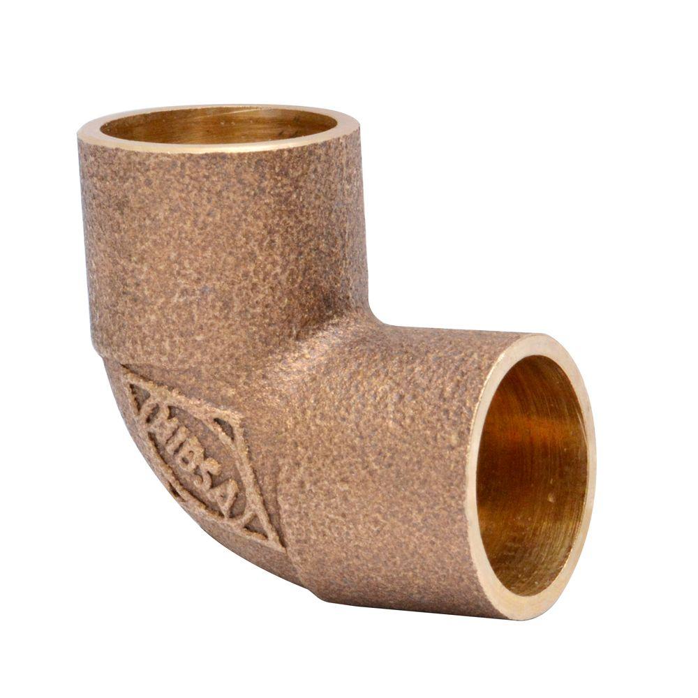 un codo de cobre